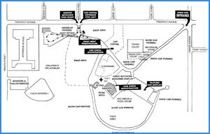 Car Show Park Map